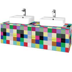 Dřevojas - Koupelnová skříňka MODULE SZZ4 140 - IND Individual / IND Individual (303648)