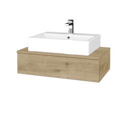 Dřevojas - Koupelnová skříňka MODULE SZZ 80 - D09 Arlington / D09 Arlington (311094)