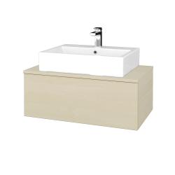 Dřevojas - Koupelnová skříňka MODULE SZZ1 80 - D02 Bříza / D02 Bříza (311506)