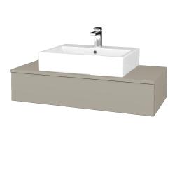 Dřevojas - Koupelnová skříňka MODULE SZZ 100 - M05 Béžová mat / M05 Béžová mat (312565)