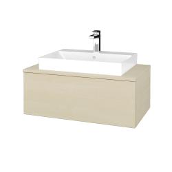 Dřevojas - Koupelnová skříňka MODULE SZZ1 80 - D02 Bříza / D02 Bříza (333164)