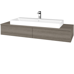 Dřevojas - Koupelnová skříňka MODULE SZZ2 140 - D03 Cafe / D03 Cafe (337148)