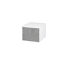 Dřevojas - Skříň nízká DOS SNZ1 40 - N01 Bílá lesk / Úchytka T05 / D20 Galaxy (281793F)