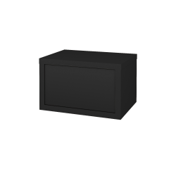 Dřevojas - Skříň nízká STORM SYZ 60 - L03 Antracit vysoký lesk / L03 Antracit vysoký lesk (254247)