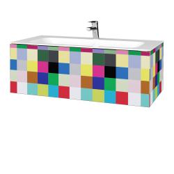 Dřevojas - Koupelnová skříň VARIANTE SZZ 100 - IND Individual / IND Individual (269128)