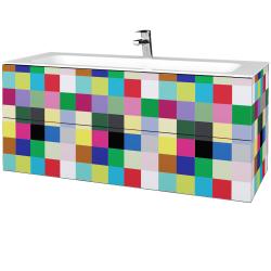 Dřevojas - Koupelnová skříňka VARIANTE SZZ2 120 - IND Individual / IND Individual (270537)