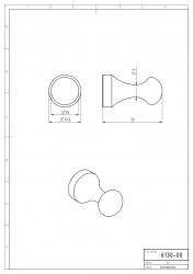 NOVASERVIS - Háček Metalia 1 chrom (6130,0), fotografie 6/3