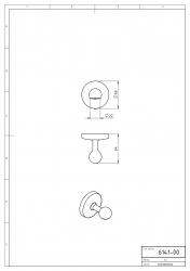 NOVASERVIS - Magnetická mýdlenka Metalia 1 chrom (6141,0), fotografie 6/3