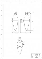 NOVASERVIS - Dávkovač mýdla Metalia 3 chrom (6355,0), fotografie 4/2