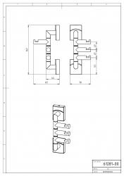 NOVASERVIS - Trojháček otočný Metalia 12 chrom (0281,0), fotografie 4/2