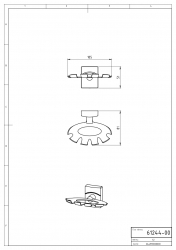 NOVASERVIS - Držák kartáčů a pasty Metalia 12 chrom (0244,0), fotografie 4/2