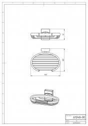 NOVASERVIS - Drátěná mýdlenka Metalia 12 chrom (0248,0), fotografie 4/2