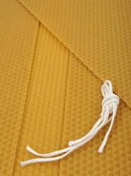 KOUPELNYMOST - Sada na výrobu svíček z plátů včelího vosku-026 (VOSK-0026), fotografie 2/3