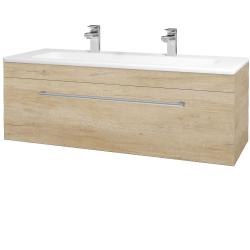 Dřevojas - Koupelnová skříň ASTON SZZ 120 - D15 Nebraska / Úchytka T03 / D15 Nebraska (173982CU)