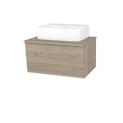 Dřevojas - Koupelnová skříň INVENCE SZZ 65 (umyvadlo Joy 3) - D17 Colorado / D17 Colorado (177928)