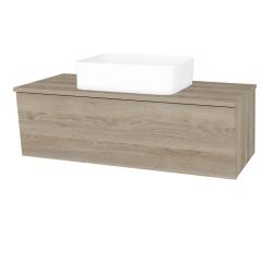 Dřevojas - Koupelnová skříň INVENCE SZZ 100 (umyvadlo Joy) - D17 Colorado / D17 Colorado (182144)
