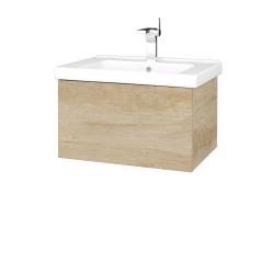 Dřevojas - Koupelnová skříň VARIANTE SZZ 65 (umyvadlo Harmonia) - D15 Nebraska / D15 Nebraska (190859)