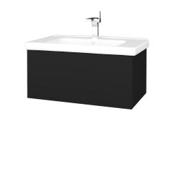 Dřevojas - Koupelnová skříň VARIANTE SZZ 80 (umyvadlo Harmonia) - N08 Cosmo / N08 Cosmo (192082)