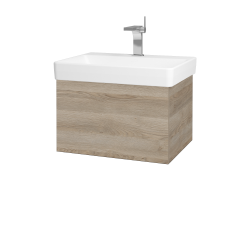 Dřevojas - Koupelnová skříň VARIANTE SZZ 60 - D17 Colorado / D17 Colorado (194383)