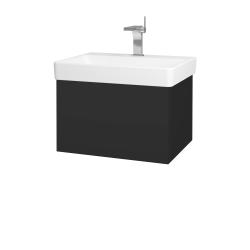 Dřevojas - Koupelnová skříň VARIANTE SZZ 60 - N03 Graphite / N03 Graphite (194505)