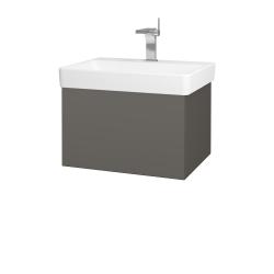 Dřevojas - Koupelnová skříň VARIANTE SZZ 60 - N06 Lava / N06 Lava (194512)