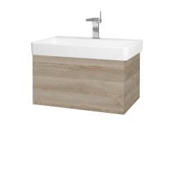 Dřevojas - Koupelnová skříň VARIANTE SZZ 70 - D17 Colorado / D17 Colorado (194789)