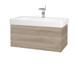 Dřevojas - Koupelnová skříň VARIANTE SZZ 85 - D17 Colorado / D17 Colorado (195182)