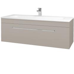 Dřevojas - Koupelnová skříň ASTON SZZ 120 - N07 Stone / Úchytka T04 / N07 Stone (200206E)