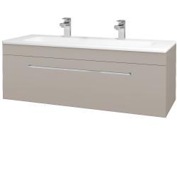 Dřevojas - Koupelnová skříň ASTON SZZ 120 - N07 Stone / Úchytka T04 / N07 Stone (200206EU)