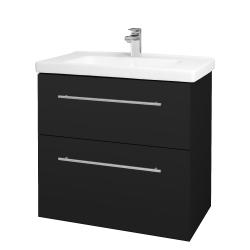 Dřevojas - Koupelnová skříň BIG INN SZZ2 80 - N08 Cosmo / Úchytka T02 / N08 Cosmo (200701B)