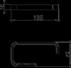 NOVASERVIS - Závěs toaletního papíru Metalia 4 chrom (6431,0), fotografie 6/3