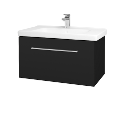 Dřevojas - Koupelnová skříň BIG INN SZZ 80 - N08 Cosmo / Úchytka T04 / N08 Cosmo (201364E)