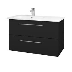 Dřevojas - Koupelnová skříň GIO SZZ2 90 - N08 Cosmo / Úchytka T02 / N08 Cosmo (202743B)