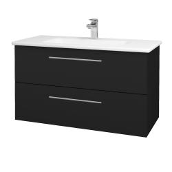 Dřevojas - Koupelnová skříň GIO SZZ2 100 - N08 Cosmo / Úchytka T02 / N08 Cosmo (202903B)