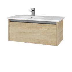 Dřevojas - Koupelnová skříň BONO SZZ 90 (umyvadlo Euphoria) - D15 Nebraska / D15 Nebraska (203634)
