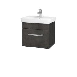 Dřevojas - Koupelnová skříň SOLO SZZ 50 - D16  Beton tmavý / Úchytka T03 / D16 Beton tmavý (205263C)