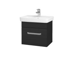 Dřevojas - Koupelnová skříň SOLO SZZ 50 - N03 Graphite / Úchytka T01 / N03 Graphite (205409A)