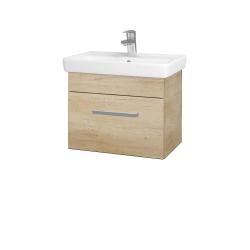 Dřevojas - Koupelnová skříň SOLO SZZ 55 - D15 Nebraska / Úchytka T01 / D15 Nebraska (205454A)