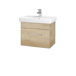 Dřevojas - Koupelnová skříň SOLO SZZ 55 - D15 Nebraska / Úchytka T04 / D15 Nebraska (205454E)