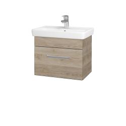 Dřevojas - Koupelnová skříň SOLO SZZ 55 - D17 Colorado / Úchytka T01 / D17 Colorado (205478A)