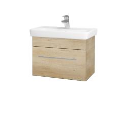 Dřevojas - Koupelnová skříň SOLO SZZ 60 - D15 Nebraska / Úchytka T02 / D15 Nebraska (205652B)