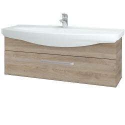 Dřevojas - Koupelnová skříň TAKE IT SZZ 120 - D17 Colorado / Úchytka T01 / D17 Colorado (207311A)