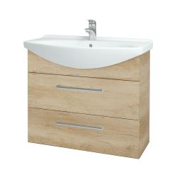 Dřevojas - Koupelnová skříň TAKE IT SZZ2 85 - D15 Nebraska / Úchytka T03 / D15 Nebraska (207779C)