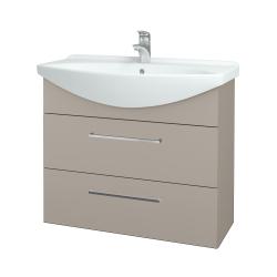Dřevojas - Koupelnová skříň TAKE IT SZZ2 85 - N07 Stone / Úchytka T04 / N07 Stone (207908E)