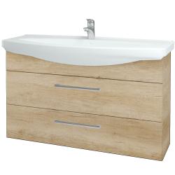 Dřevojas - Koupelnová skříň TAKE IT SZZ2 120 - D15 Nebraska / Úchytka T03 / D15 Nebraska (208097C)