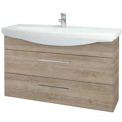Dřevojas - Koupelnová skříň TAKE IT SZZ2 120 - D17 Colorado / Úchytka T04 / D17 Colorado (208110E)