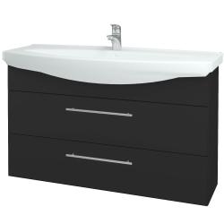 Dřevojas - Koupelnová skříň TAKE IT SZZ2 120 - N03 Graphite / Úchytka T02 / N03 Graphite (208202B)