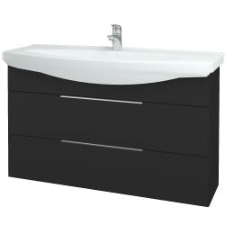Dřevojas - Koupelnová skříň TAKE IT SZZ2 120 - N03 Graphite / Úchytka T05 / N03 Graphite (208202F)