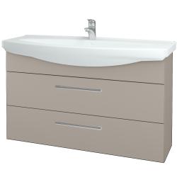 Dřevojas - Koupelnová skříň TAKE IT SZZ2 120 - N07 Stone / Úchytka T03 / N07 Stone (208226C)
