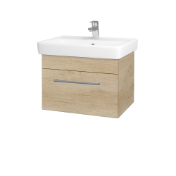 Dřevojas - Koupelnová skříň Q UNO SZZ 60 - D15 Nebraska / Úchytka T03 / D15 Nebraska (208455C)